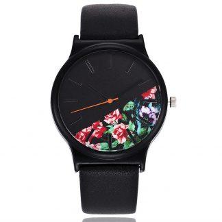 часовник с цветя