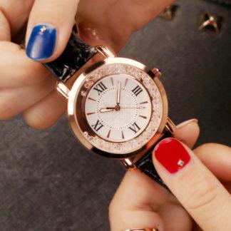 дамски часовник с кристали