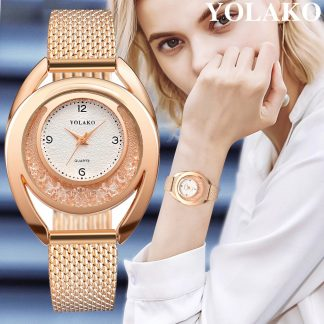 Розово Златен Часовник