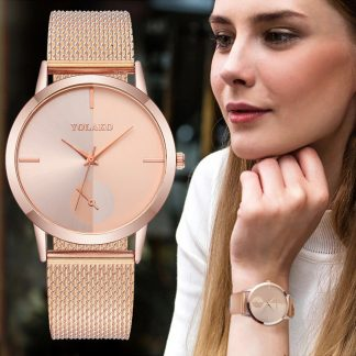 Дамски Часовник в Розово Злато