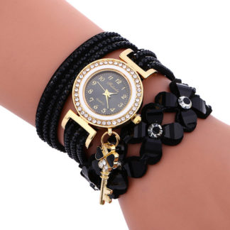 Черен Часовник Гривна