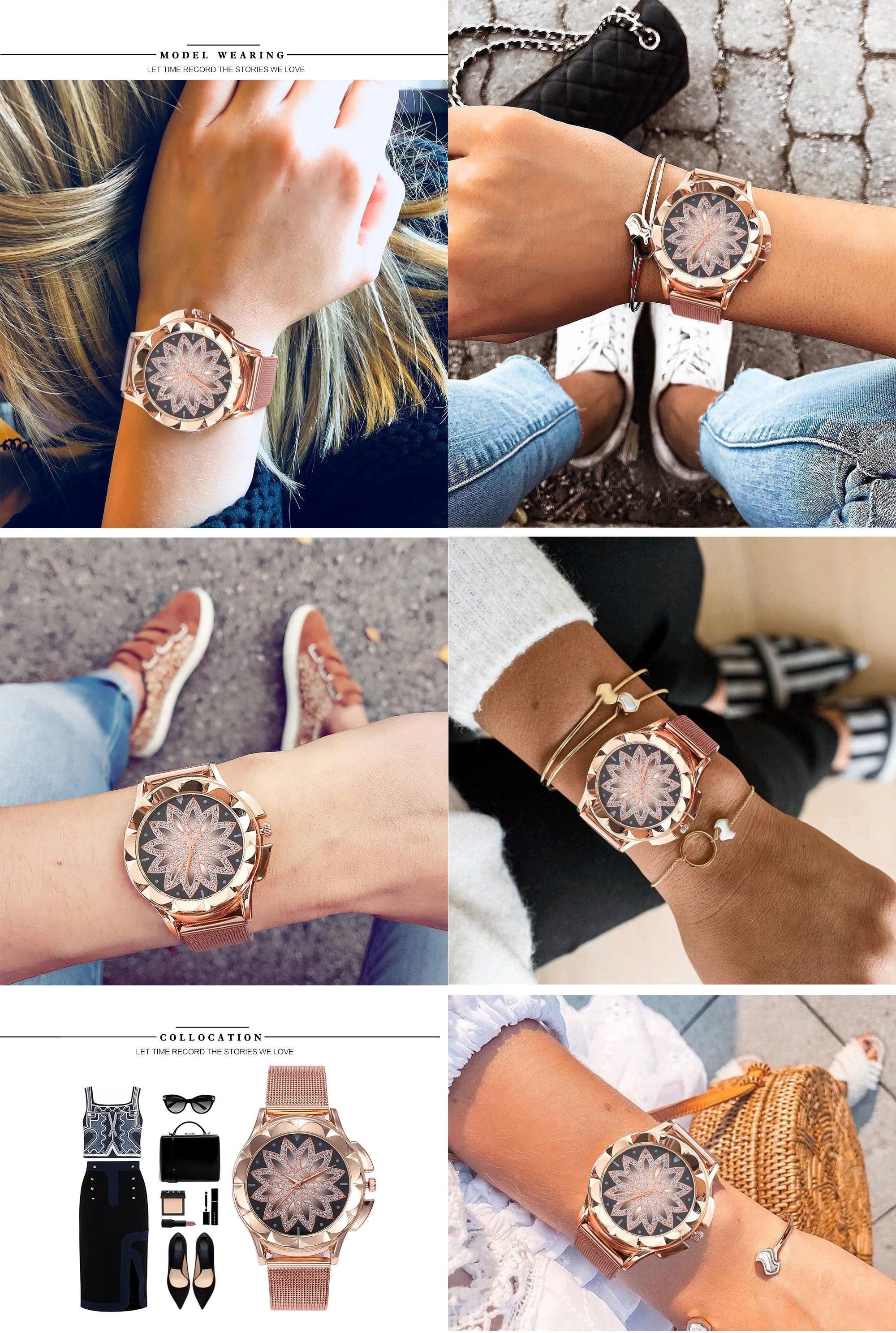 Луксозен Дамски Часовник