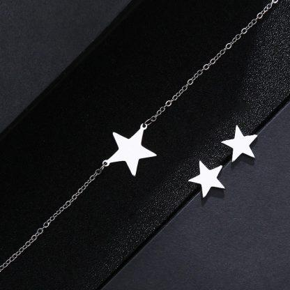 "Комплект Бижута от Стомана ""Shining Star"" by Perfect Style BG"