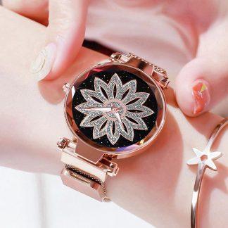 Дамски Часовник с Магнитно Закопчаване